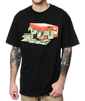 DGK Hustle Hard Black Tee Shirt