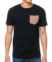 Empyre Banita Black Pocket Tee Shirt