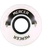 Mercer 60mm White 83a Cruiser Wheels