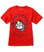 LRG Boys Homeboy Panda Red Tee Shirt