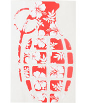 Grenade Aloha Die Cut Sticker