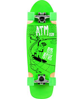 ATM Dog Bowl 29 Green Cruiser Complete
