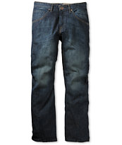 Volcom Ergo Medium Blue Regular Fit Jeans