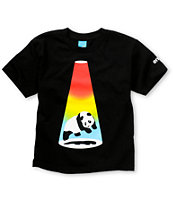 Enjoi Boys Abduction Black Tee Shirt