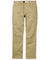 RVCA Weekender Khaki Stretch Slim Fit Chino Pants