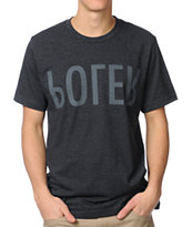 Poler Relop Heather Black Tee Shirt