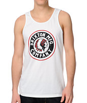 Brixton Grizzly White Tank Top