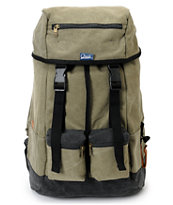 Chuck Originals Field Rucksack Olive & Black Backpack