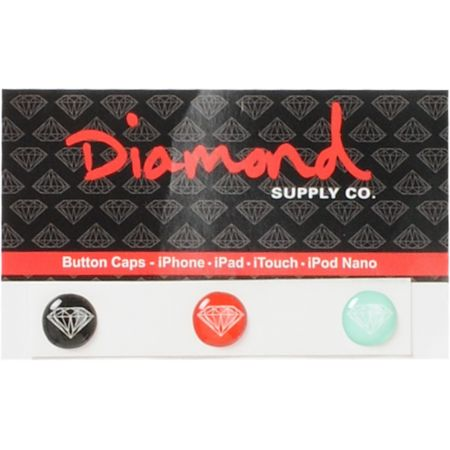 Diamond Supply iPhone Home Button Sticker Pack