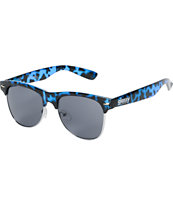 Glassy Shredder Blue Tortoise Sunglasses