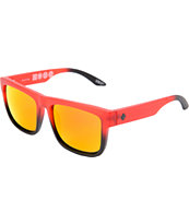 Spy Discord Red Lens Fade Sunglasses