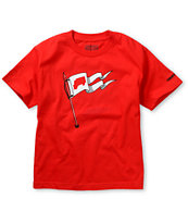 Trukfit Boys We Are Here Red Tee Shirt