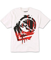 Metal Mulisha Boys Disarm White Tee Shirt
