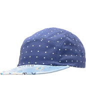 Chuck Originals Polka Blue LTD 5 Panel Hat