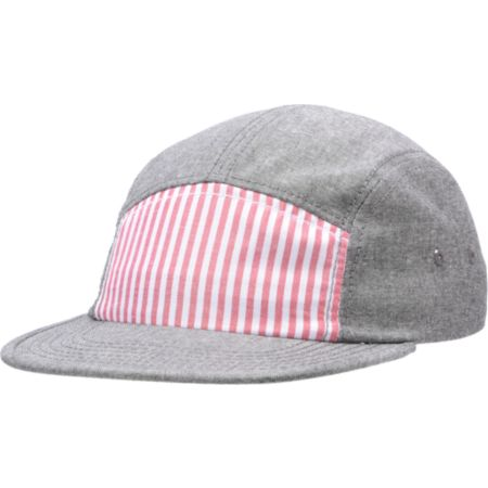 Chuck Originals Proper Red & Grey 5 Panel Hat