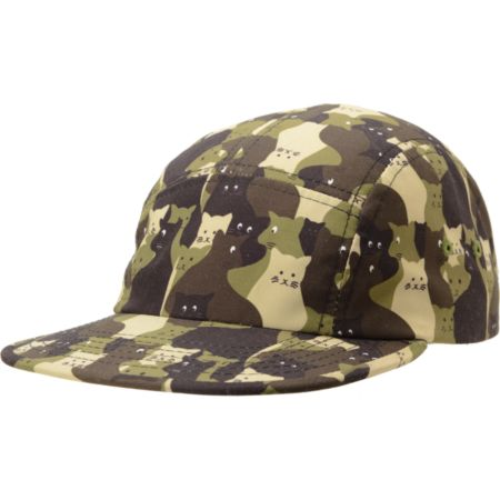 Chuck Originals Kitty Camo 5 Panel Hat