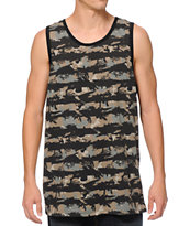 Empyre First Blood Camo Print Tank Top