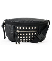 T-Shirt & Jeans Black Studded Fanny Pack