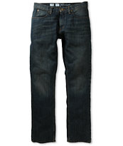 Free World Night Train Dark Dirty Denim Regular Fit Jeans