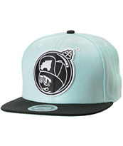 Trukfit Feelin Spacey Beachglass blue Snapback Hat