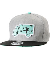 Trukfit Modern Classic Heather Grey Strapback Hat
