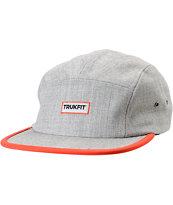 Trukfit Camper Heather Grey 5 Panel Hat