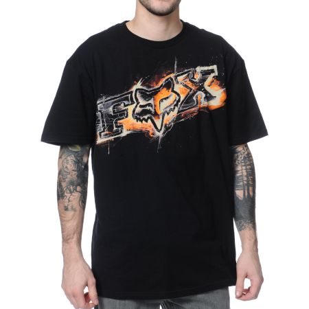 Fox Deception Black Tee Shirt