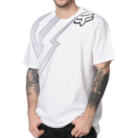 Fox Preverb White Tee Shirt
