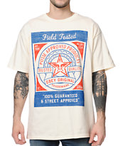 Obey Feedsack Natural Tee Shirt