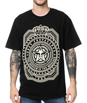 Obey The Medium Is The Message Black Tee Shirt