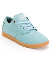 Huf Hufnagel Pro Washed Jade Canvas Skate Shoe