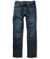 Empyre Skeletor Dirt Nasty Blue Skinny Jeans