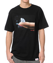 Diamond Supply Imprint Black Tee Shirt