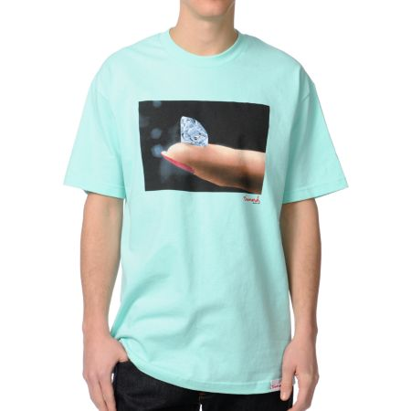 Diamond Supply Imprint Mint Tee Shirt