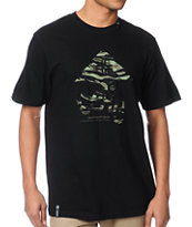 LRG Tiger Leaf Blammer Black Tee Shirt