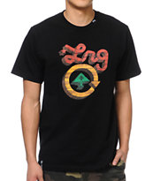 LRG CC Five Black Tee Shirt