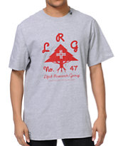 LRG OG Army Stack Grey Tee Shirt