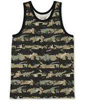 Empyre Boys First Blood Camo Print Tank Top