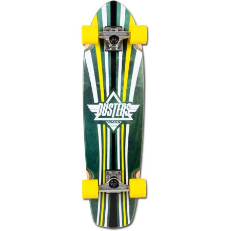 Dusters Keen 31 Green & Yellow Complete Cruiser Skateboard