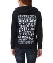 Glamour Kills Dream Always Stud Front Zip Up Hoodie