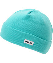 TRUKFIT Marl Beach Glass Green Beanie