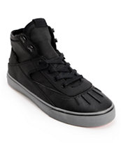 Project CANVAS Primary High Black & Grey Canvas Skate Shoe
