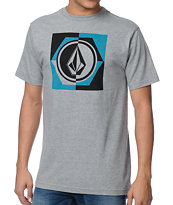 Volcom Hop Scotch Heather Grey Tee Shirt
