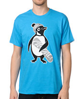 Casual Industrees Penguin Mint Blue Tee Shirt