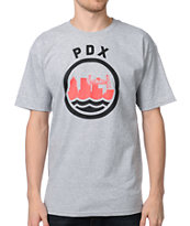 Casual Industrees PDX Grey Tee Shirt