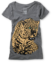 Empyre Girls Predator Charcoal Scoop Neck Tee Shirt