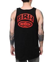 SRH Clutch Black & Red Tank Top