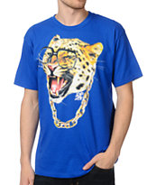 A-Lab Cat So Hard Blue Tee Shirt