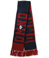 Diamond Supply Diamond Red & Navy Scarf