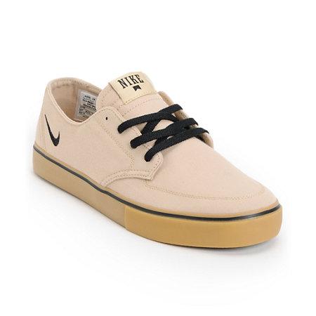 nike sb braata lr gum canvas skate shoe at zumiez pdp